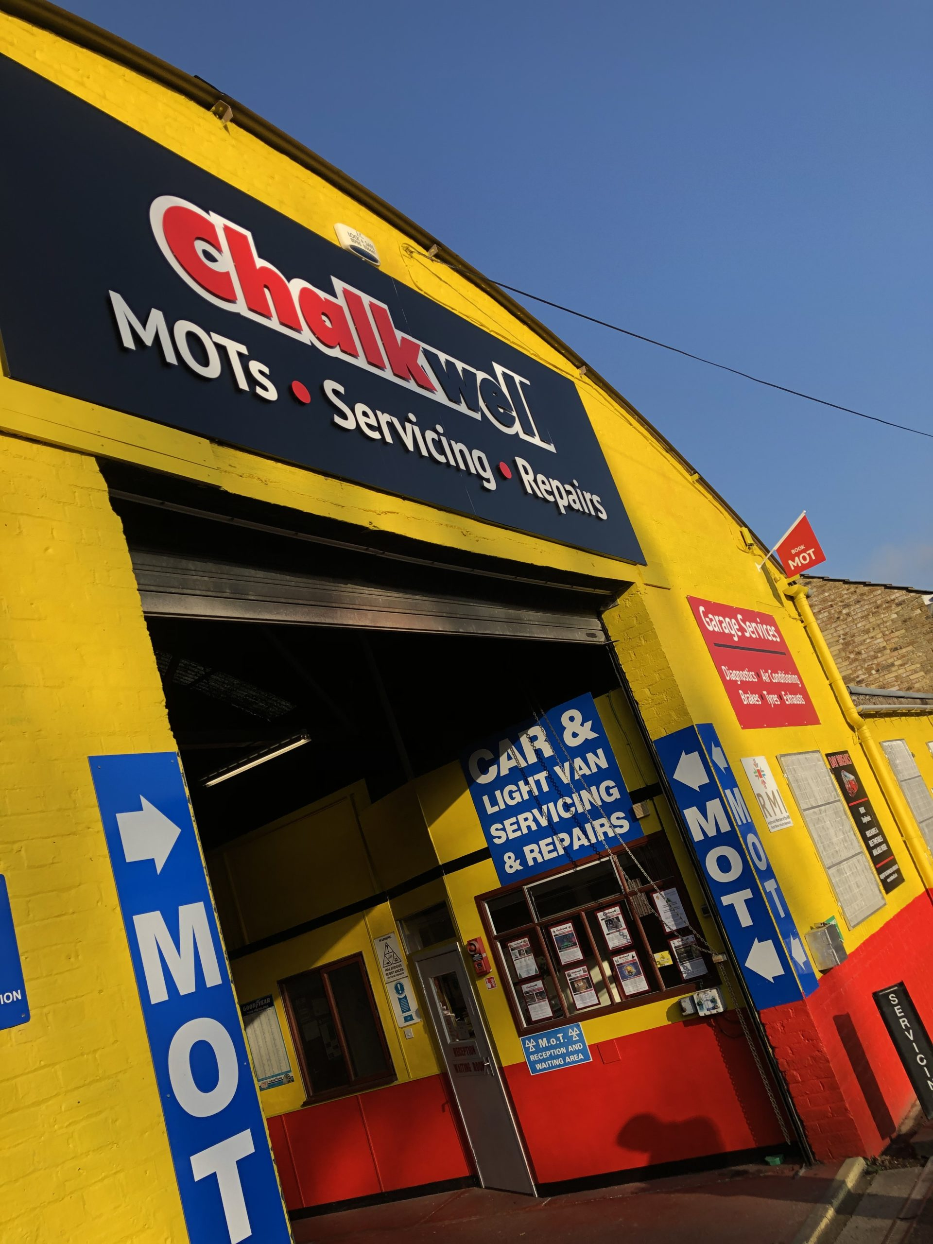 Chalkwell Garage opening hours over the Festive Season